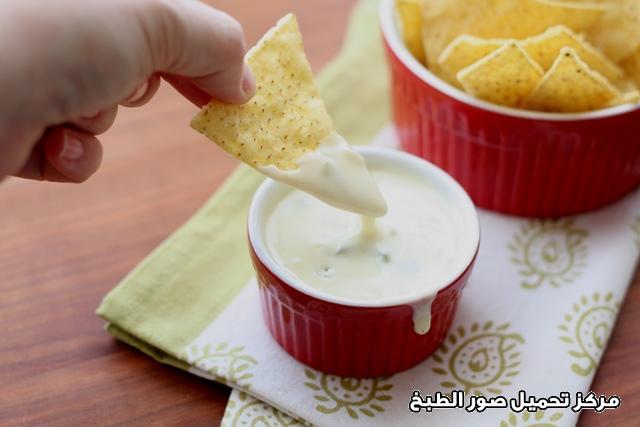 صورة طريقة عمل صلصة صوص تغميسة الجبن والخيار pictures sauce recipe easy