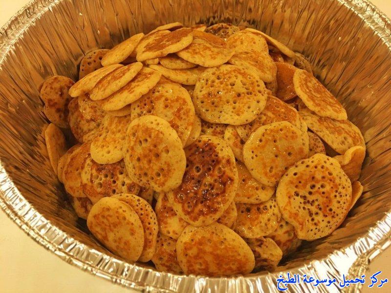 al massabeb recipes in arabic-طريقة عمل مصابيب لذيذه وتسمى المراصيع - المراقيش - المصابيب - الرغفان - مراهيف