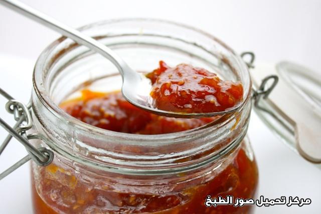 -easy jam making recipes-  طريقة عمل مربى الطماطم