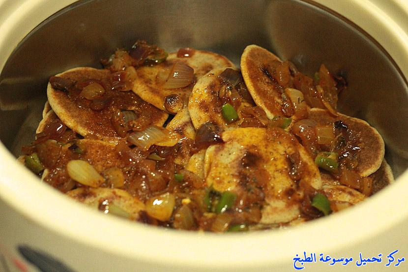 al massabeb recipes in arabic-طريقة عمل المصابيب بالكشنه ام بيان وتسمى المراصيع - المراقيش - المصابيب - الرغفان - مراهيف