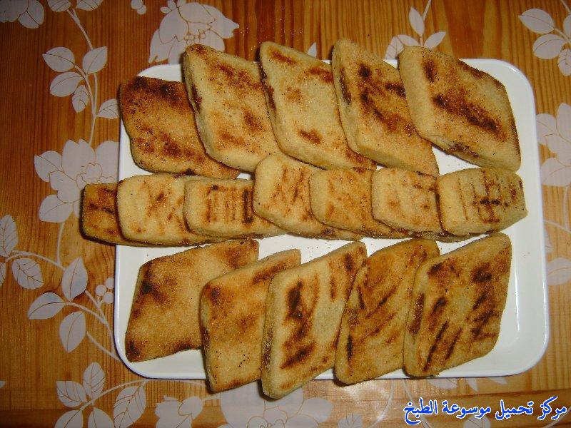 -recette de cuisine algérienne ramadan en arabe-طريقة عمل الخبز المبسس الجزائري من المطبخ الجزائري واكلة جزائرية مشهورة وشعبية وتقليدية وأحد مكونات الطعام الجزائري بالصور