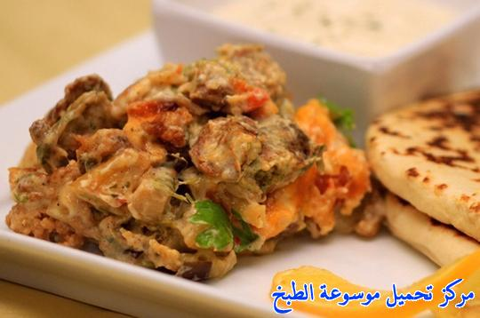 how to make best easy middle eastern homemade falafel with cauliflower casserole ramadan recipe