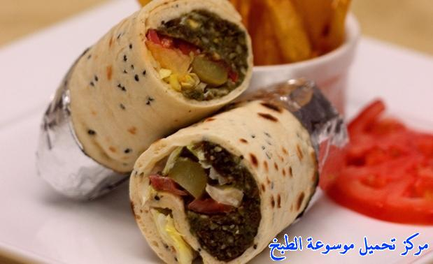 how to make best easy middle eastern homemade falafel wrap ramadan recipe