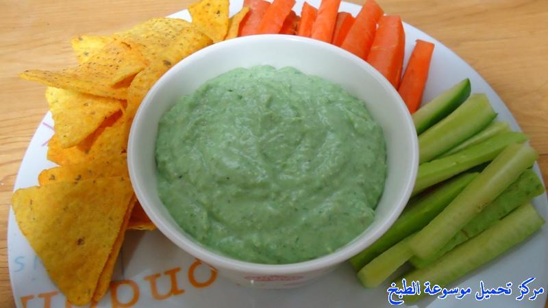 صورة طريقة عمل تغميسة صوص البازلاء pictures dipping sauce recipe easy