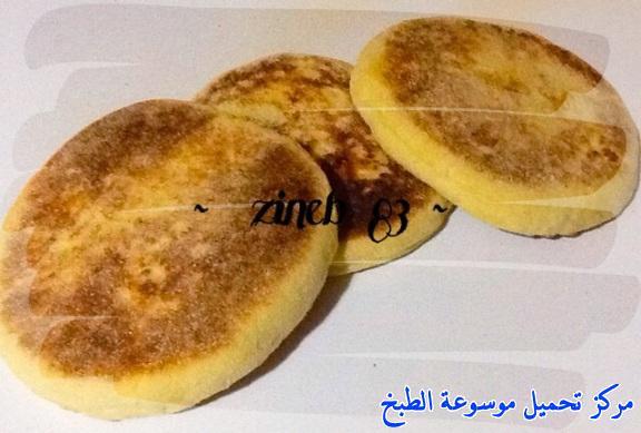 طريقة عمل خبز الشباتي التونسي أكلة تونسية شعبية تقليدية بالصور-traditional food recipes cuisine tunisienne recette